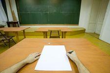 Free Empty Classroom Stock Photo - 7789420