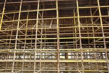 Free Scaffolding Royalty Free Stock Photo - 7789435