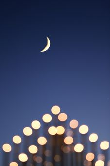 Free Holiday Moon Stock Images - 7789774