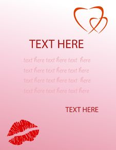 Free Valentine S Love Letter Stock Photo - 7789940