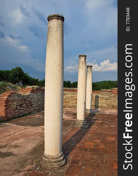 Ancient romans ruins