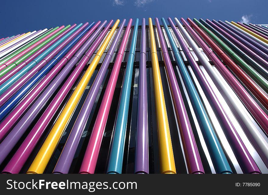 Coloured Tubes