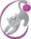 Free Cat Playing Ball Royalty Free Stock Photo - 7790325