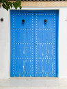 Free Traditional Door In Tunisia Royalty Free Stock Photography - 7790517