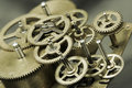 Free Old Golden Gears Stock Photography - 7791162
