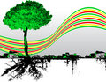 Free Tree With Rainbow Stock Photo - 7794590