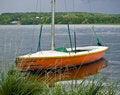 Free Orange Boat Stock Images - 7797044