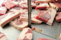 Free Cut Of Meats In Butcher Stock Photo - 7797780