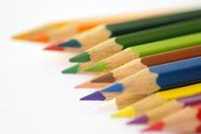 Free Color Pencils Royalty Free Stock Photos - 7790878