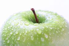 Free Green Big Apple Stock Photos - 7791143