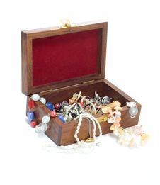 Free Chest With Treasures Stock Photo - 7791700