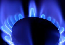Free Blue Flame Of Gas Stock Photos - 7792543