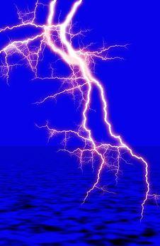 Free Thunderbolt Royalty Free Stock Photo - 7792555