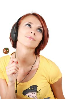 Free Candy And Music Stock Image - 7792701