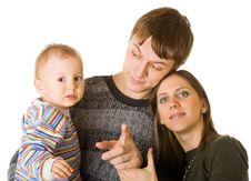 Free Happy Family Stock Photography - 7792962