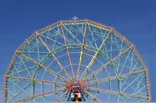 Free Wonder Wheel Royalty Free Stock Photos - 7793208