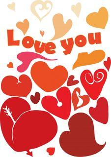 Free Love You Stock Photo - 7793940