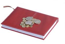 Free Money On A Notebook Royalty Free Stock Photo - 7793975