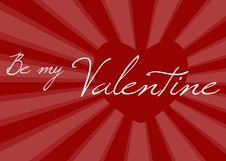 Free BE MY VALENTINE Stock Image - 7794161