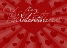 Free BE MY VALENTINE Stock Photo - 7794390