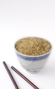 Free Brown Rice Royalty Free Stock Images - 7794469