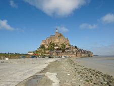 Free Mont Saint-Michel Royalty Free Stock Photo - 7794865