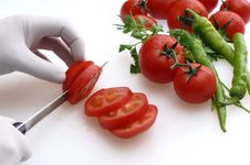 Free Cutting Tomatoes Stock Photo - 7794880