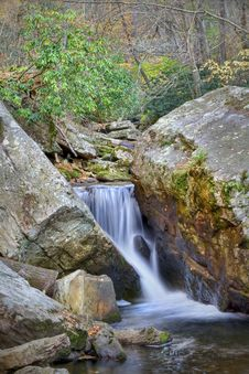 Free Autumn Waterfall Royalty Free Stock Image - 7795436