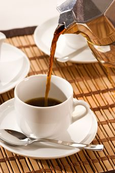 Free Pouring Coffee Stock Images - 7795504