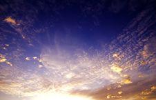 Free Sunset Royalty Free Stock Image - 7796166
