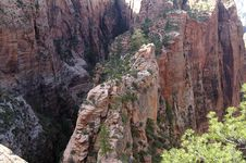 Free Angels Landing Zion Stock Photos - 7796753