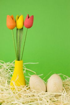 Free Easter Eggs Royalty Free Stock Photos - 7796778