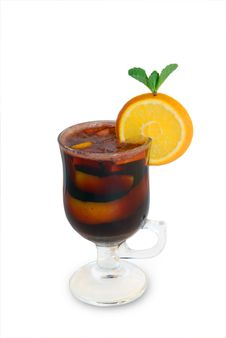 Free Citrus Mulled Wine Stock Images - 7797564