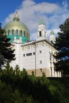 Free Vienna: Otto Wagner Church Stock Photography - 7797862