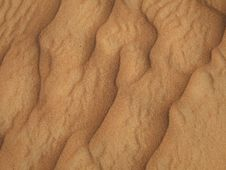 Sandy Waves Royalty Free Stock Photography