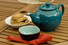 Free Tea & Biscuits Stock Photo - 7797910
