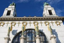 Free Vienna: Otto Wagner Church Detail Royalty Free Stock Photos - 7798008