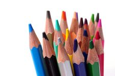 Free Colored Pencils Royalty Free Stock Photos - 7798158