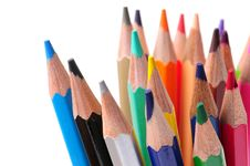 Free Colored Pencils Royalty Free Stock Photography - 7798207