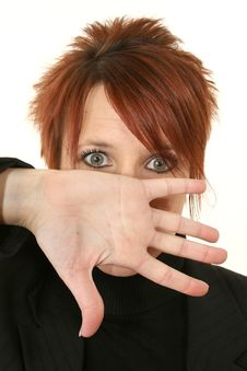 Free Red-headed Woman Yelling Royalty Free Stock Photo - 7798225