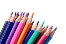 Free Colored Pencils Royalty Free Stock Photos - 7798248