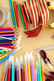 Free Artist Table Royalty Free Stock Photography - 7798317