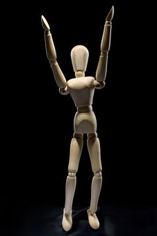 Free Human Figure - Arms Up Royalty Free Stock Photography - 7798447