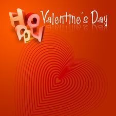 Free Happy Valentine S Day Illustrated Types V Stock Image - 7798601