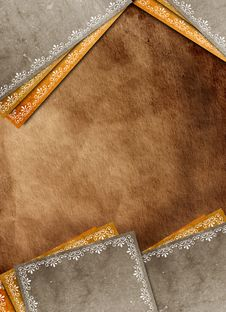 Decorative Border Frame Royalty Free Stock Photo