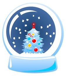 Snow Globe Stock Image