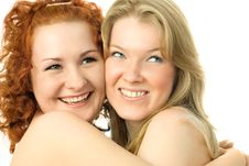 Free Two Happy Friends Stock Photography - 7799652