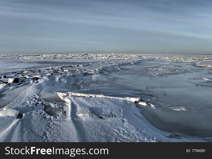 The ice sea