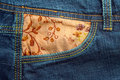 Free Jeans Fabric And Zipper Stock Image - 787701