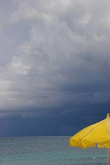 Beach Of Antigua Stock Image